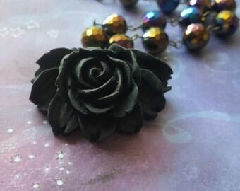 Galaxy Flower Necklace