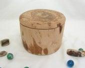 Hawthorne Tree Branch Wood Box, office desk organizer, small urn, woodland decor, wooden jewelry box, 5th wedding anniversary, wedding gift