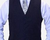 Men's necktie set of 6 Paisley Skull ties, Custom colors available