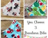 Baby Bandana Bib Set  - Baby - Bib - Bandana Bib - Baby Gift Set