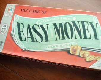 Easy Money - Vintage board game - Real estate and trading - 1950s - excellent condition