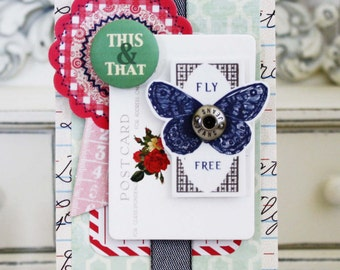 Fly Free...Handmade Card