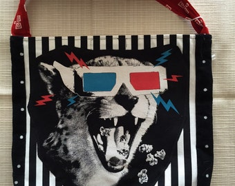 3D cat tshirt bag