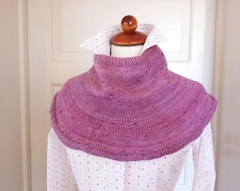 Knitting Pattern - Rosee Collar