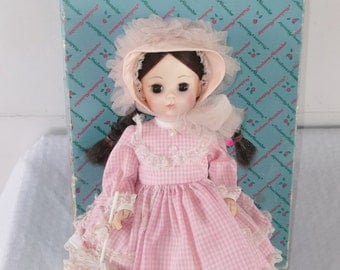 Madame Alexander Rebecca Doll In Original Box 14 Inch 1965