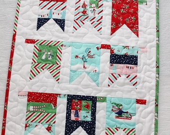 Fairground Mini Quilt PDF Pattern
