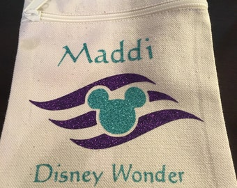 Personalized Disney Pouch