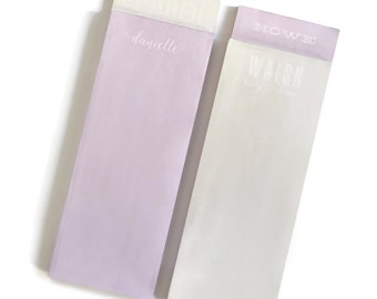 Personalized Pastel Market Note Pad