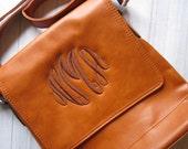 Monogrammed Crossbody Purse  Bag