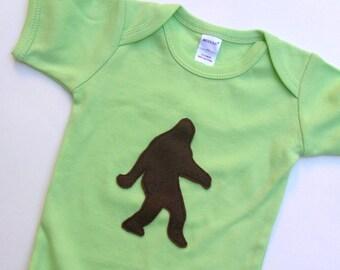 Sasquatch Baby Onesie Bigfoot