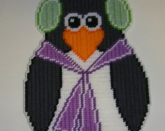 Winter Penguin Wall Hanging