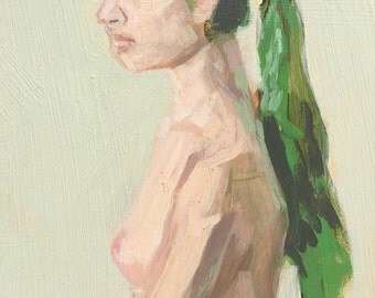 Figure study 4 - original painting