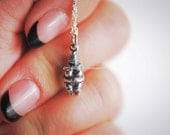 Venus of Willendorf Necklace - Solid 925 Sterling Silver Charm - Free Domestic Shipping