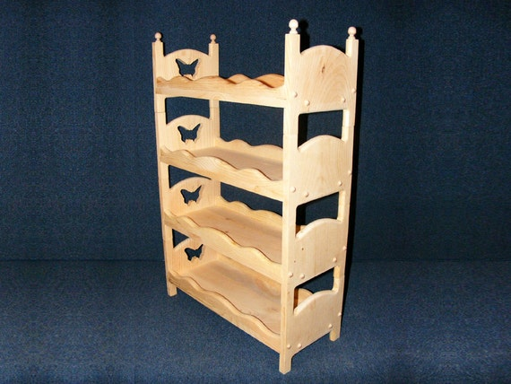 Wooden Bunk Beds For 18 Inch Girl Dolls American Made Quad
