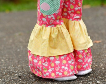 Toddler Girls Outfit - Girls Ruffle Pants Outfit - Birthday Outfit - Ruffle Pants - Girls Outfit - Little Girls Clothing - sizes 2T to 8 yrs