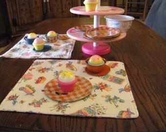 Toddler Tea Time Place mats
