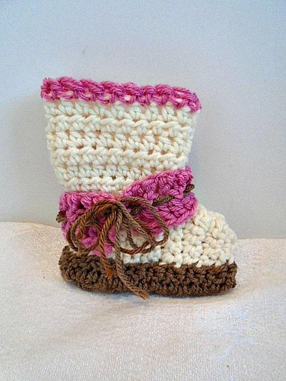 Unisex Baby Booties Free Crochet Pattern : crochet pattern Baby booties Unisex style Ankle strap