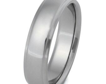 Titanium Wedding Band - Custom Ring - n20