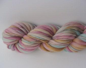 Handspun Yarn - Handspun Merino - Handspun Wool - Thick and Thin