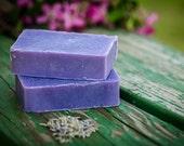 Lavender Soap - Lavender Goats Milk Soap - All Natural Soap - Essential Oil Soap - Artisan Soap - Cold Process Soap - Wholesale Soap-4  BARS