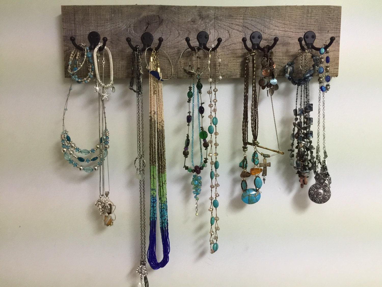 Foyer Mudroom Jewelry : Jewelry necklace holder display rack hook organizer