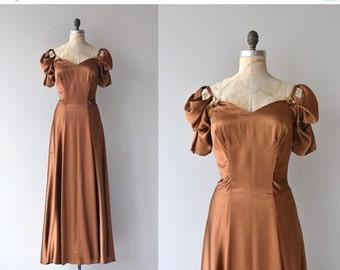 25% OFF.... Vezzosa dress | vintage 1930s dress | silk 30s dress