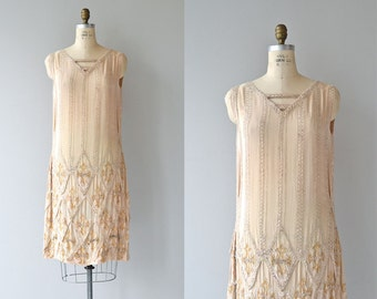 Loire Valley dress | vintage 1920s dress • beaded 20s dress
