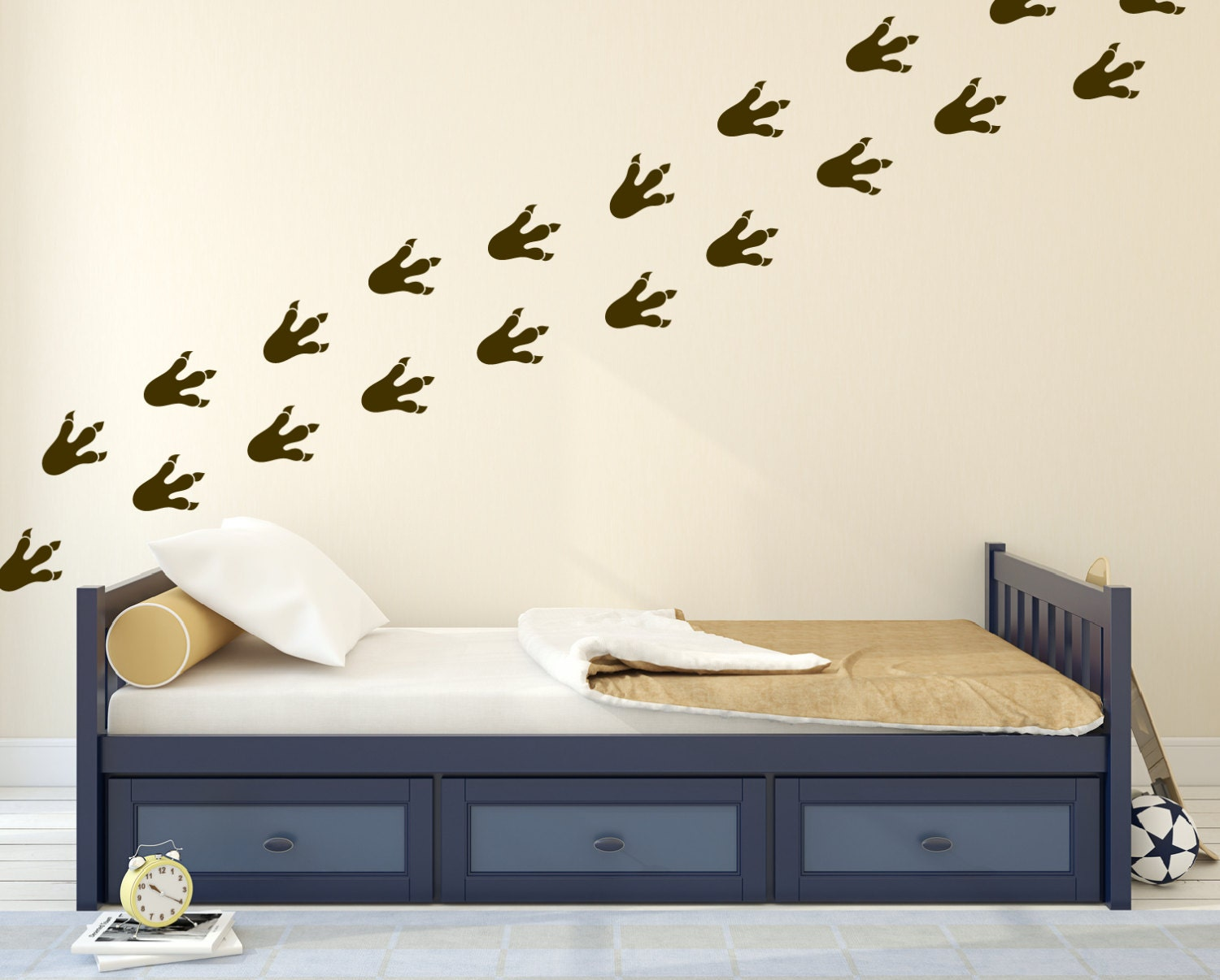 Dinosaur wall decals kids wall stickers for bedroom dinosaur for Dinosaur wall decals for kids rooms