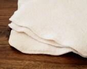 Diaper Wipes - Double Layer Organic Cotton Sherpa - 1 Dozen
