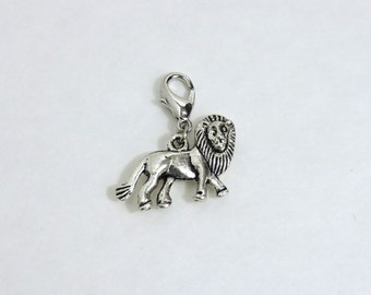 Lion Progress Keeper (Stitch Marker Set)