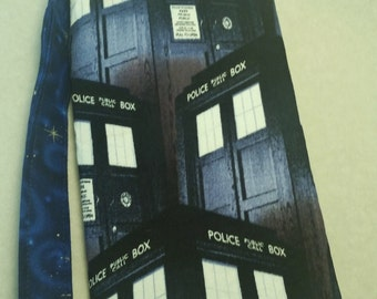 Police Box Jane Wristlet
