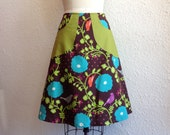 Carmen a-line pocketed skirt Sz 8