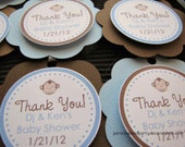Monkey Baby Shower Decorations, Baby Shower Decorations, Baby Shower Décor, Monkey Baby Shower FAVOR TAGS, You Choose The Colors