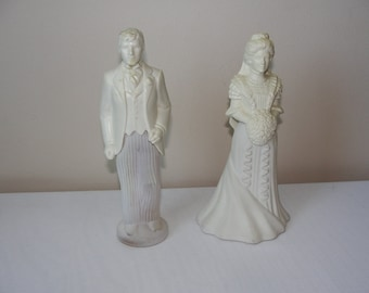 Vintage Avon Bottles of Cologne Wedding Couple