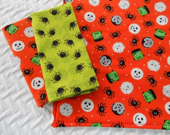 Kids Lunchbox Set, Halloween Set, Placemat and Napkins, School Placemat Set, Frankenstein Placemat, Spider Placemat, Dracula Placemat