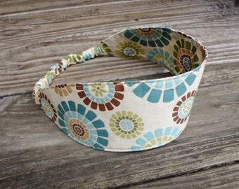 Wide Fabric Headband with elastic