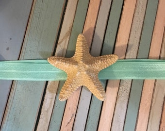 Beachy jungle starfish headband - kids - baby - babies - beach - ocean - sea - nautical - mermaid