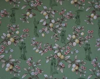 Asian Spendor Artistic Expressions Fabric