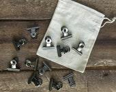 Mini bulldog clip, bull clip