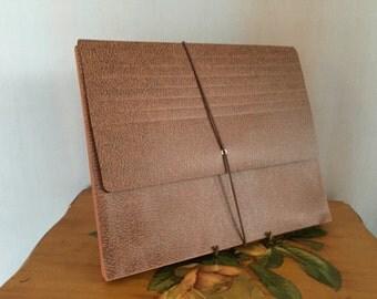 Office File Folder Vintage Brown Expandable Folders Binder