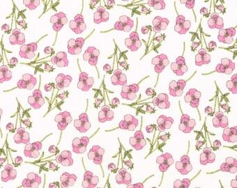 Liberty Fabric Ros Pink Tana Lawn One Yard