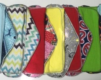 Set of 6 MamaBear LadyWear Quick-Dry cloth menstrual pads - Heavy/Overnight/Post Partum