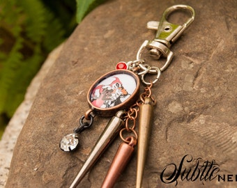 The Sirens Keychain inspired by Batman