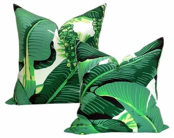 """Brazilliance by Dorothy Draper - Pair of Brazilliance Pillow Cover - 20"""" x 20"""""""