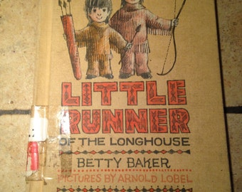1962 Little Runner of the Longhouse I Can Read Children's Book