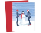 Snow Bjork - Blank Card - 1pc