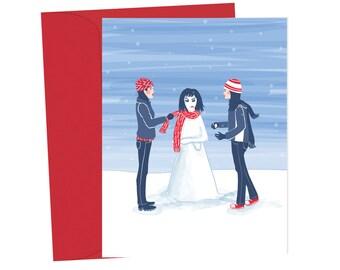 Snow Bjork - Gilmore Girls Blank Card - 1pc
