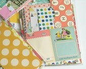 Pretty Paper Scrap Pack - 50g - For Project Life, Collage, Scrapbooking, Smash Book Junk Journal - CLEARANCE SALE - Shop CLosing