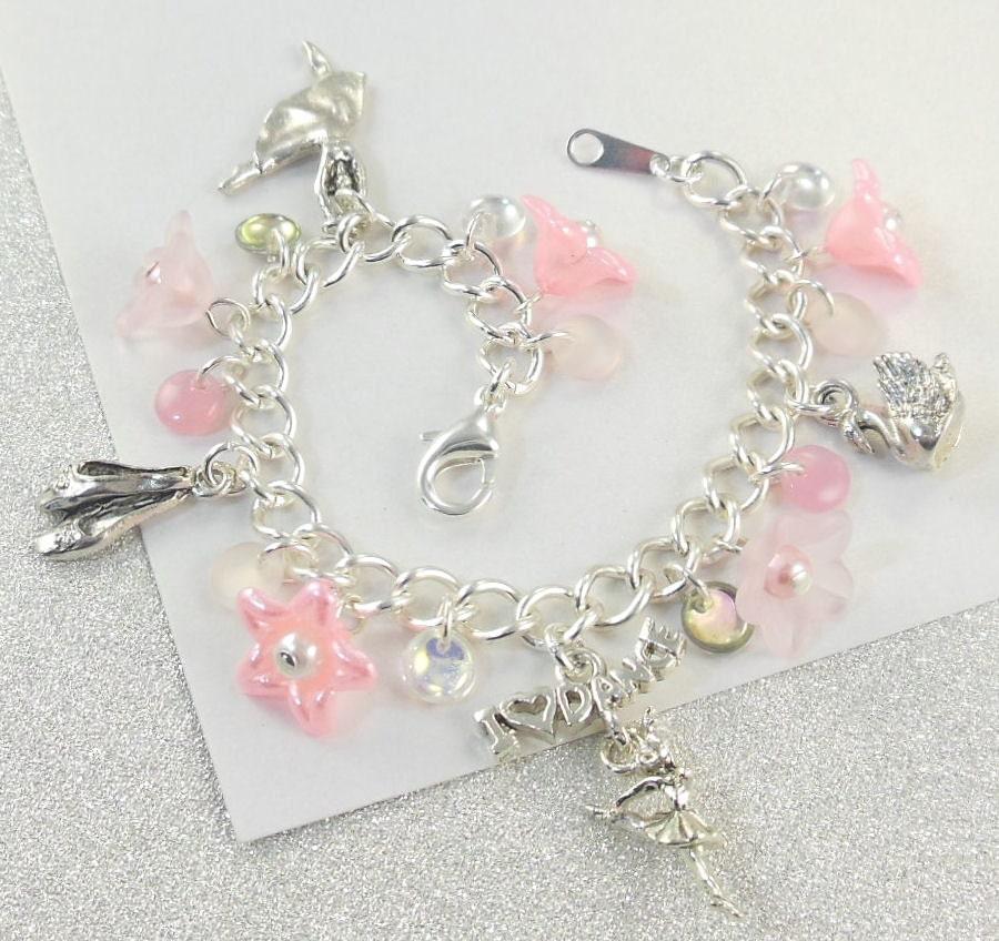 Ballet Charm Bracelet: Dance Recital Charm Bracelet For Girls Donna