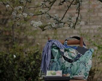 ERRINGTON . Meandering Bag from The Linen Garden Studio